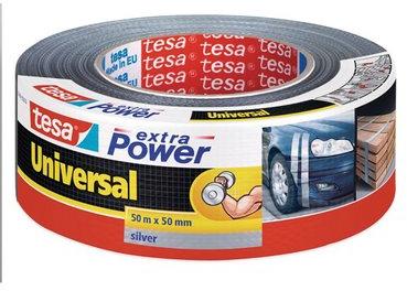 Tesa Extra Power ducttape 50m grijs