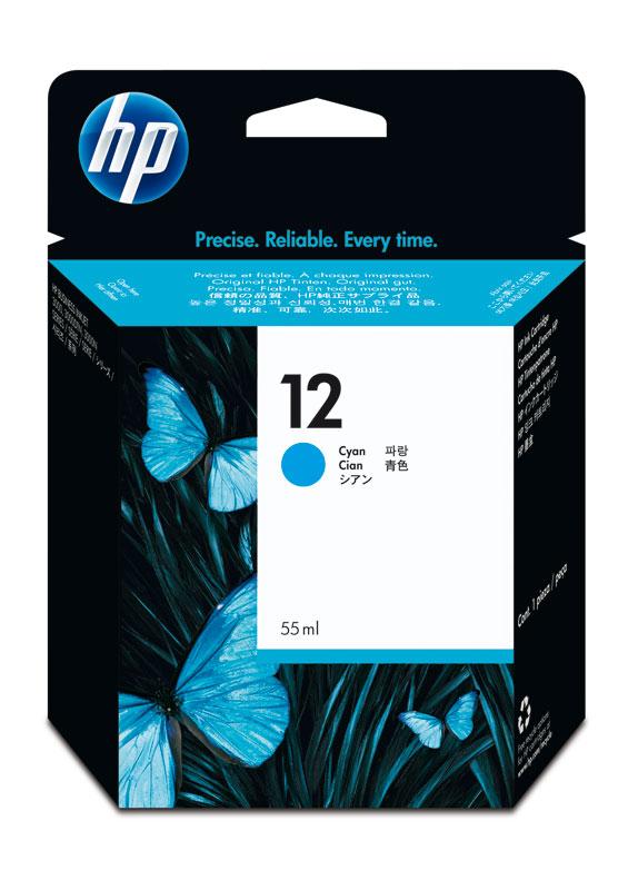 HP 12 cyaan
