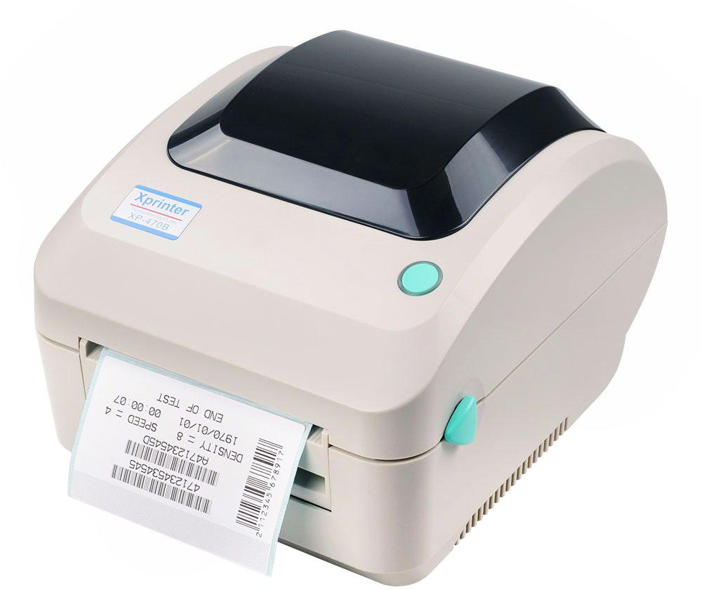 Xprinter XP-470B desktop barcode printer