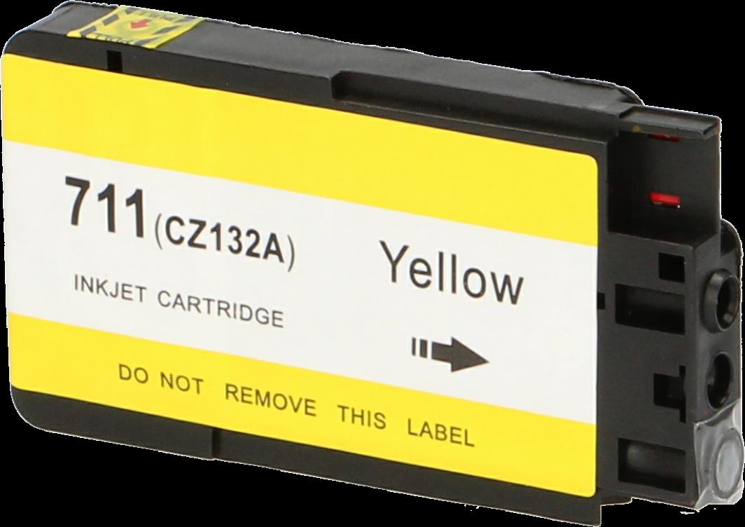 Huismerk HP 711 geel