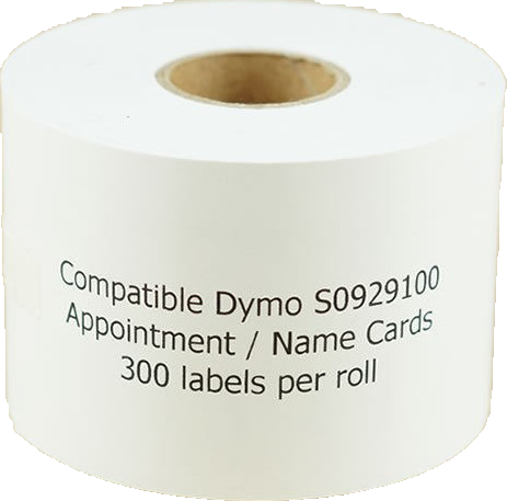 Huismerk Dymo Naambadge etiketten wit