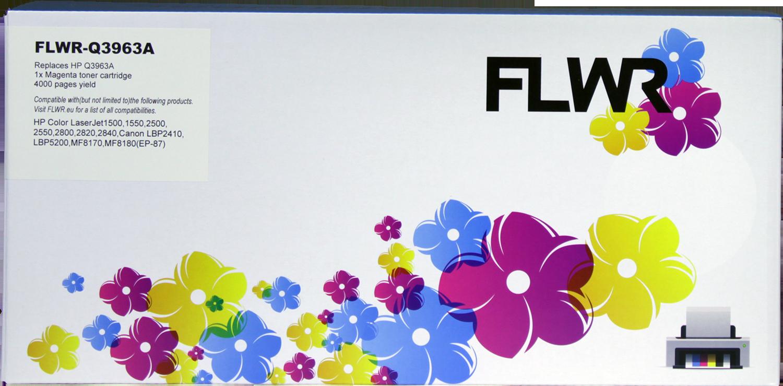 FLWR Canon 701 magenta