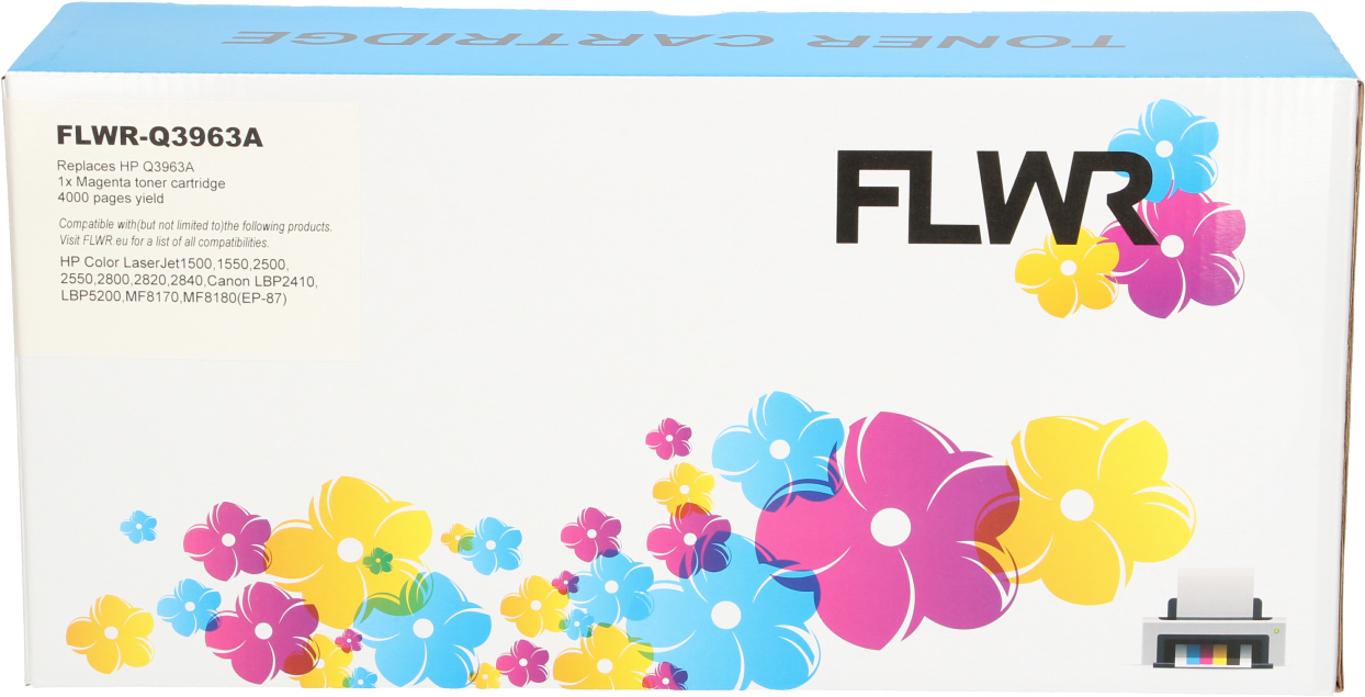 FLWR HP 122A magenta