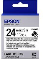 Epson LK-6WBC zwart