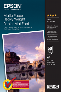 Epson Heavy weight papier wit