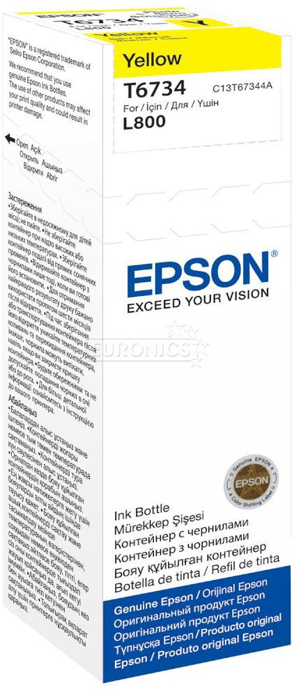 Epson T6734 geel