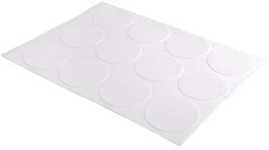 Huismerk Eetbaar Frosting sheets A4 - 12 Voorgesneden cirkels