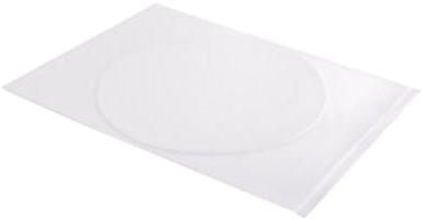 Huismerk Eetbaar Frosting sheets A4 - 1 Voorgesneden cirkel wit