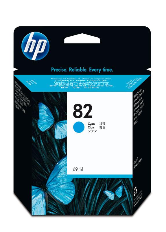 HP 82 cyaan