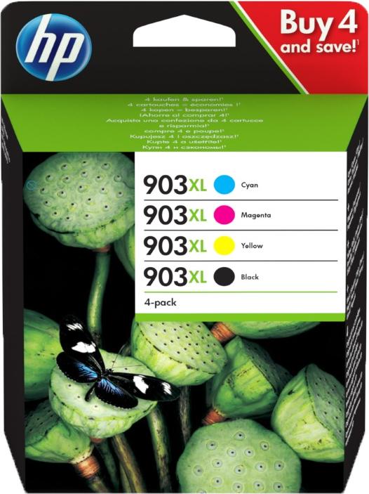 HP 903XL Multipack zwart en kleur