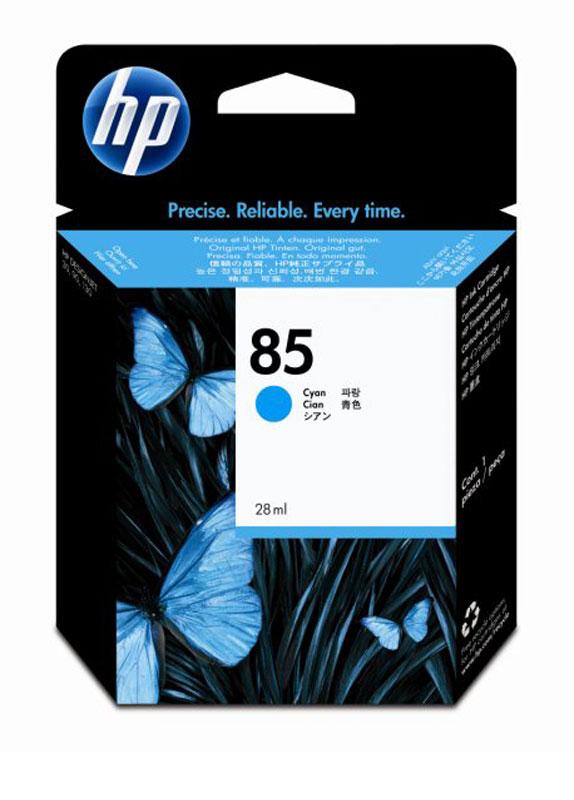 HP 85 cyaan