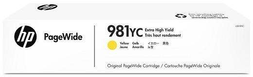 HP 981YC geel