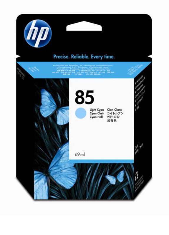 HP 85 licht cyaan