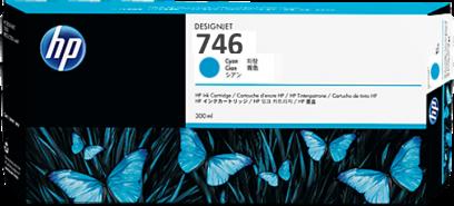 HP 746 cyaan