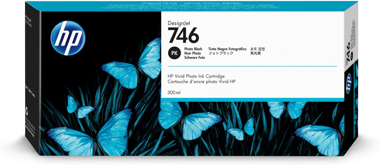 HP 746 foto zwart