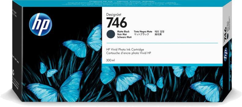 HP 746 mat zwart