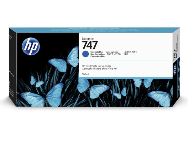 HP 747 blauw