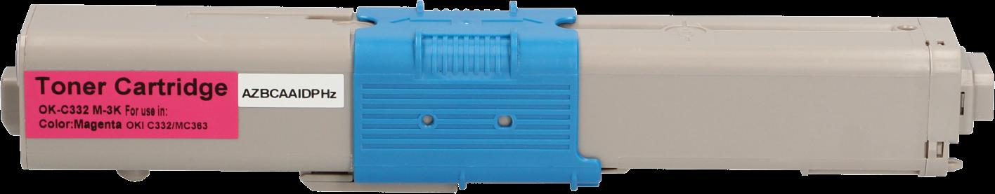 Huismerk Oki C332 / MC363 magenta