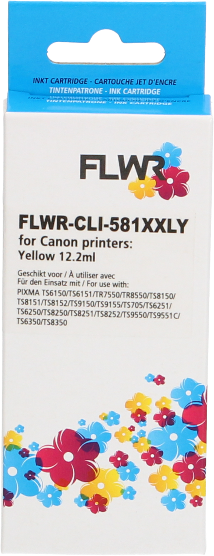 Canon CLI-581XXL geel