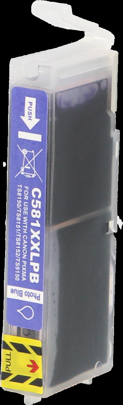 Huismerk Canon CLI-581XXL foto blauw