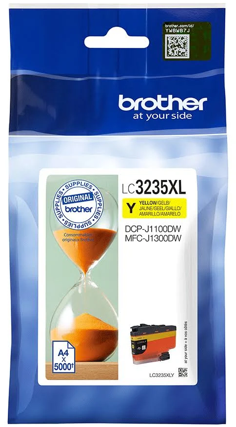 Brother LC-3235XLY geel