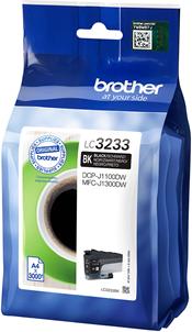 Brother LC-3233BK zwart