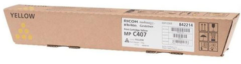 Ricoh MP-C407 geel