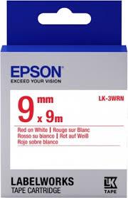 Epson LK-3WRN rood