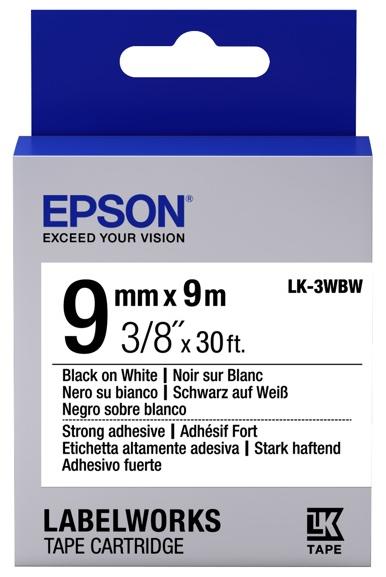 Epson LK-3WBW zwart
