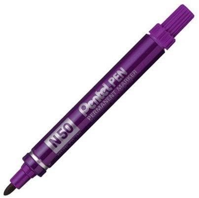 Pentel N50 Permanente marker paars