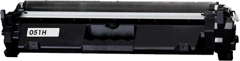 Huismerk Canon 051H zwart