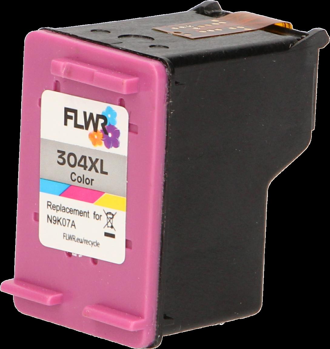 FLWR HP 304XL Multipack zwart en kleur