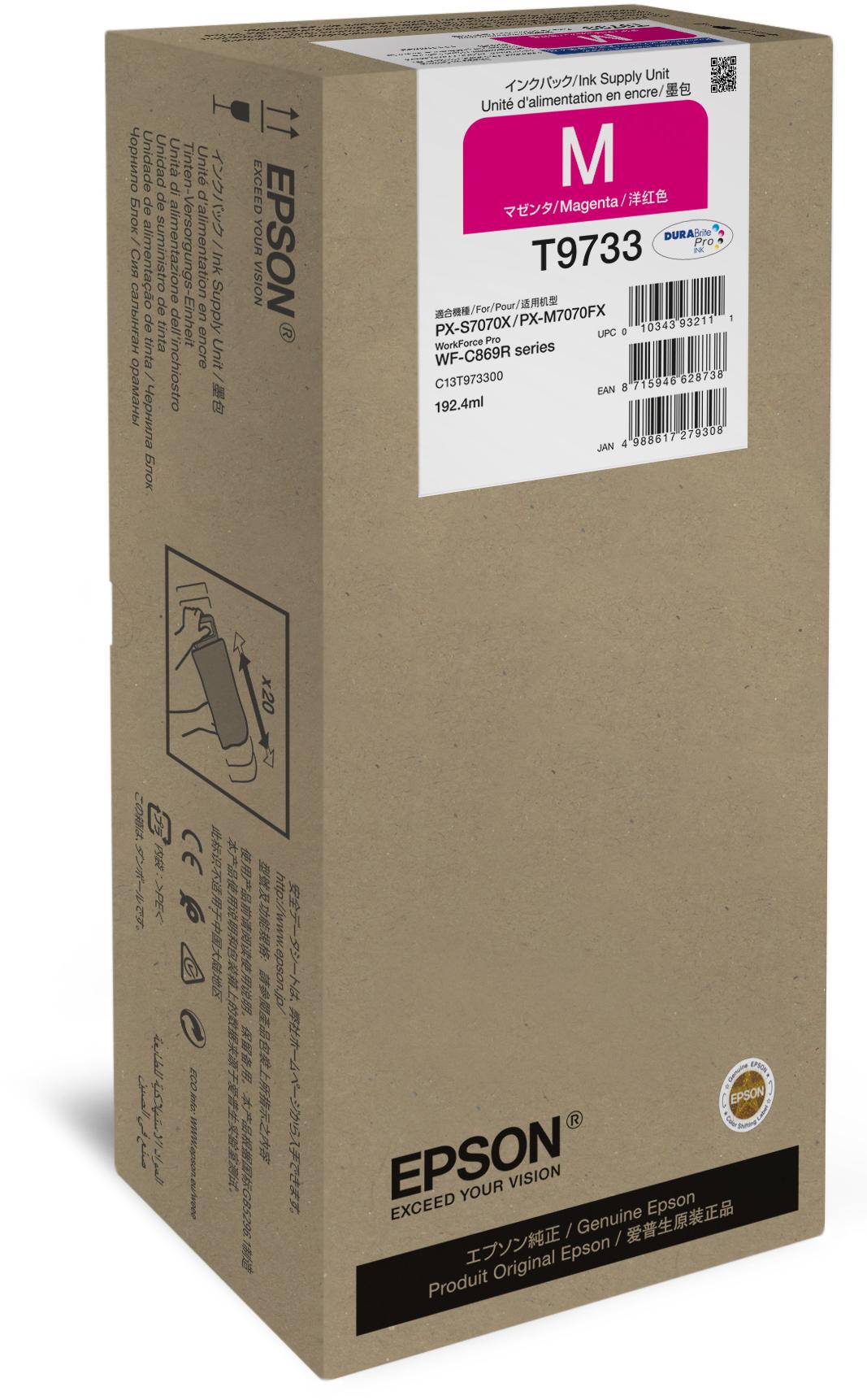 Epson T9733 magenta