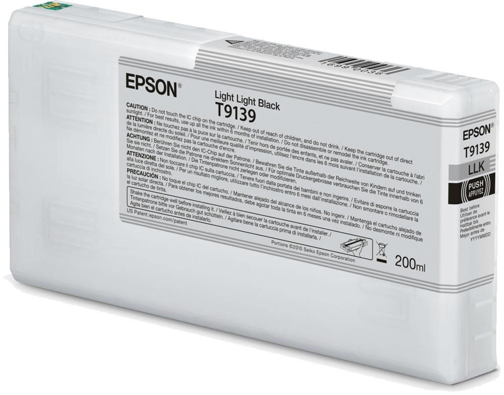 Epson T9139 licht licht zwart