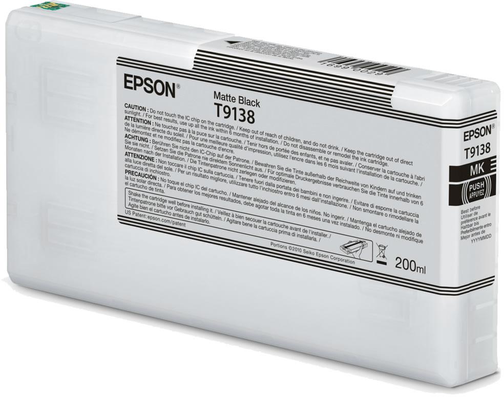 Epson T9138 mat zwart