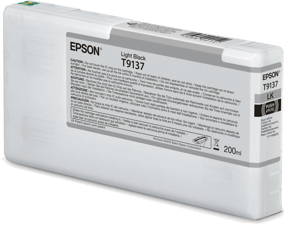 Epson T9137 licht zwart