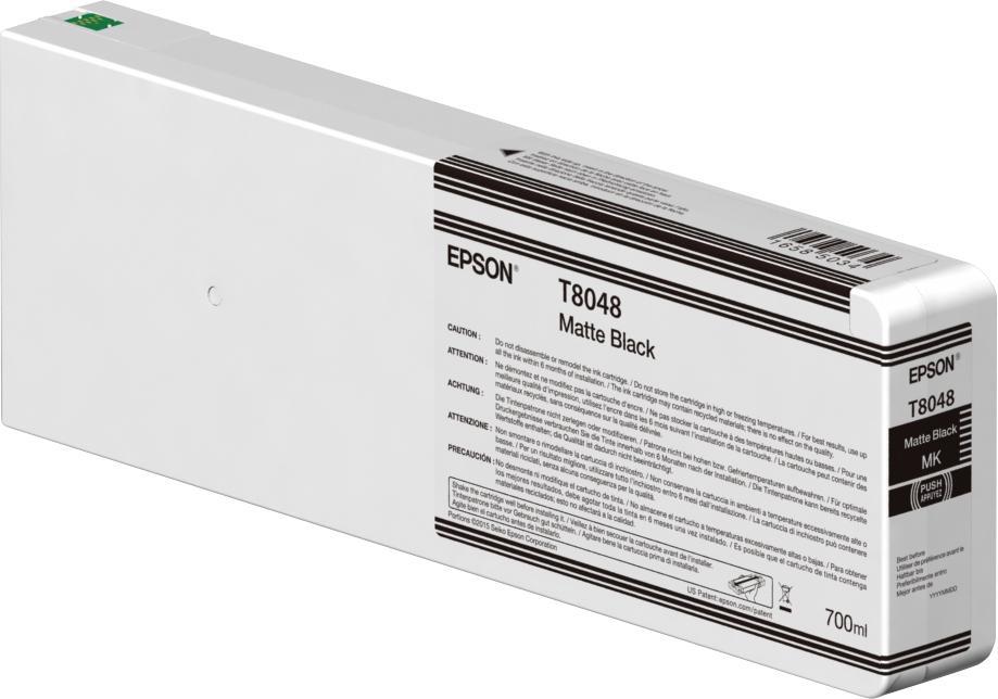 Epson T804800 mat zwart
