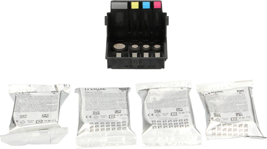 Lexmark 14N1228 Printkop en cartridges zwart en kleur