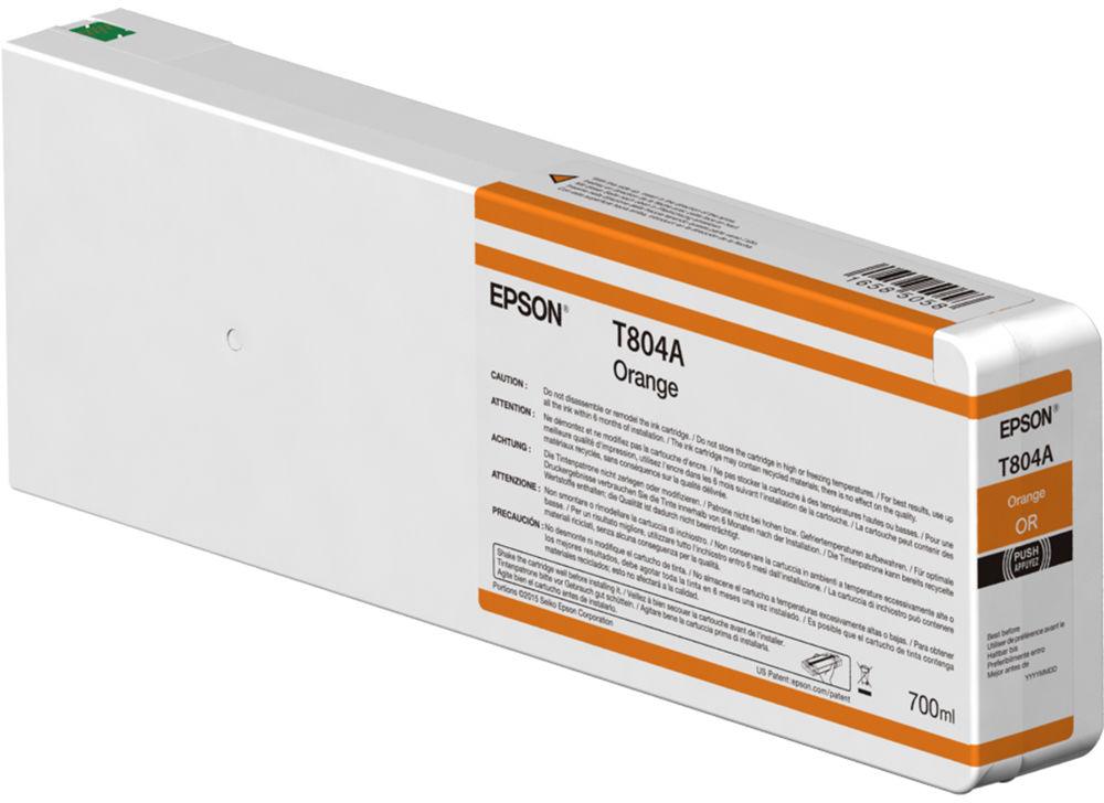 Epson T804A00 oranje