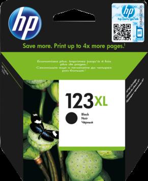 HP 123XL zwart