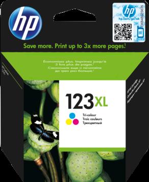 HP 123XL kleur