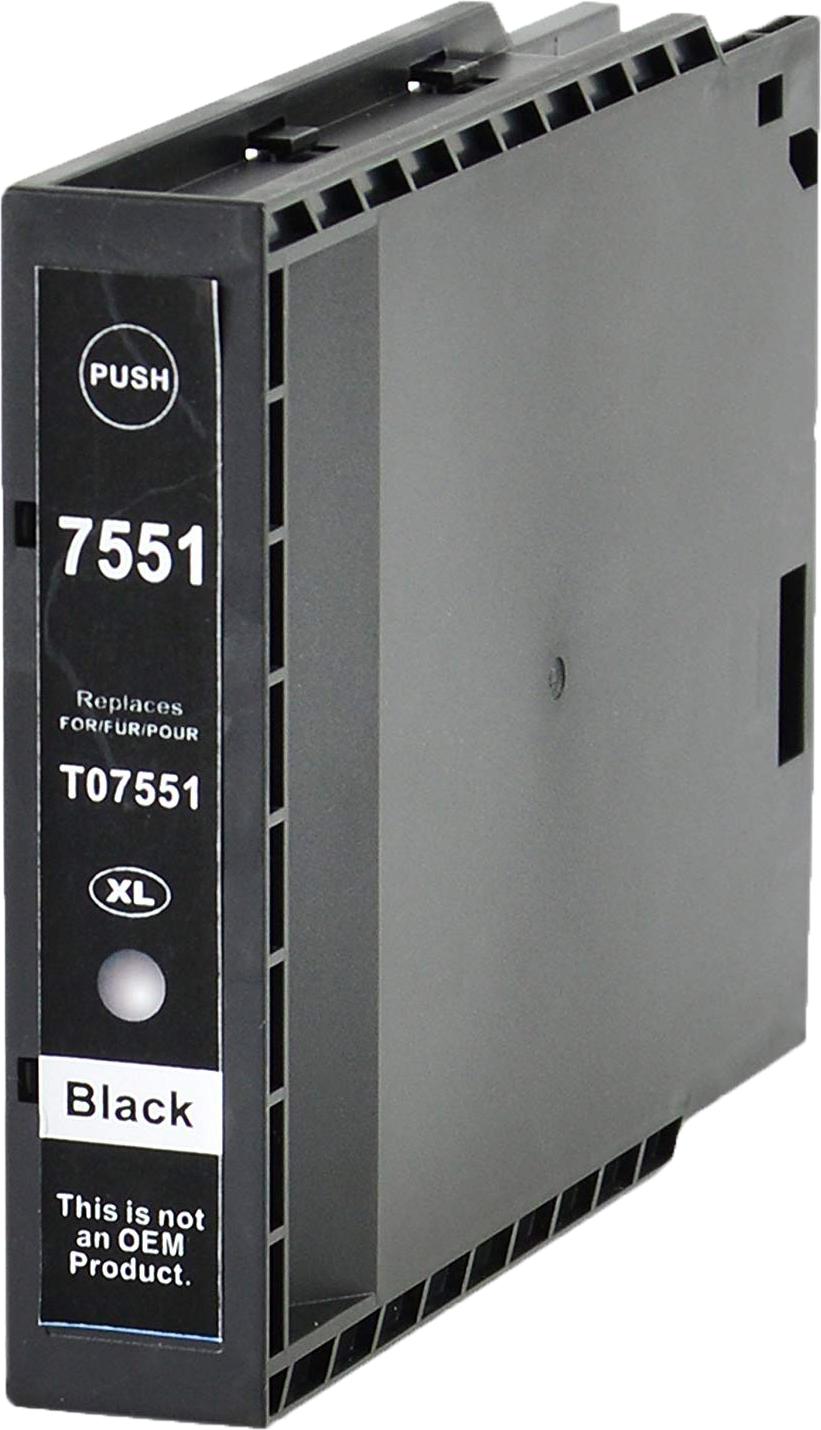 Huismerk Epson T7551 zwart