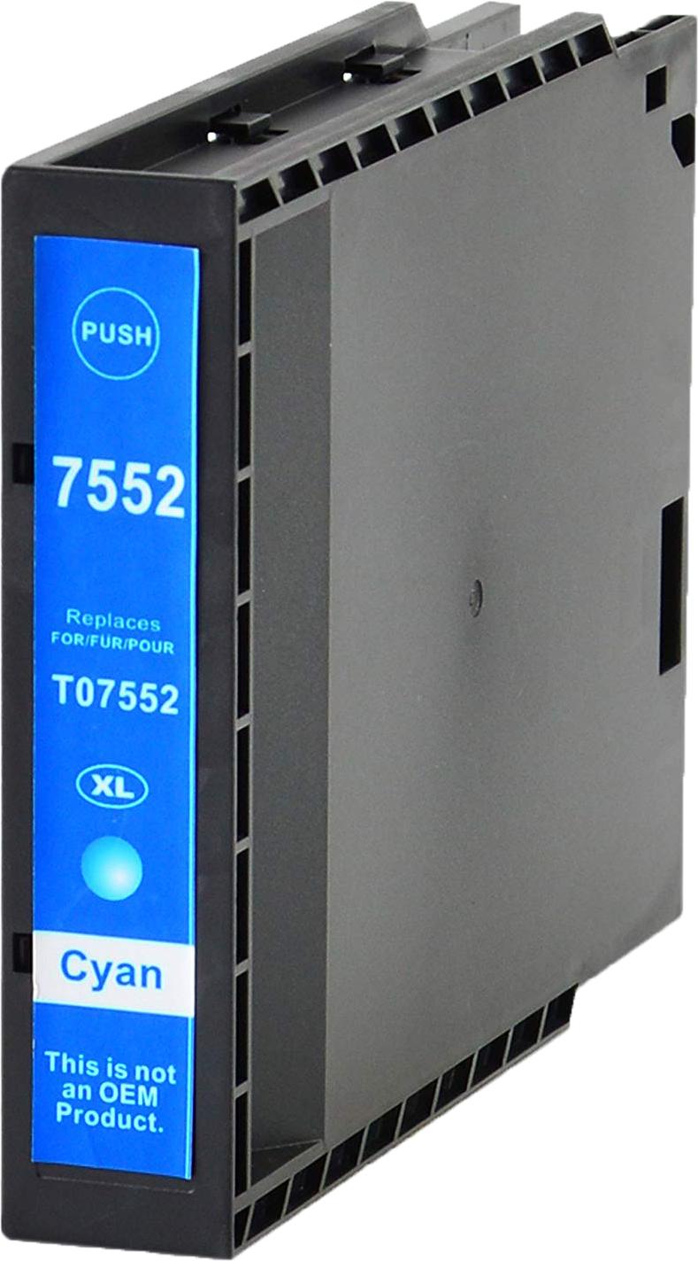 Huismerk Epson T7552 cyaan