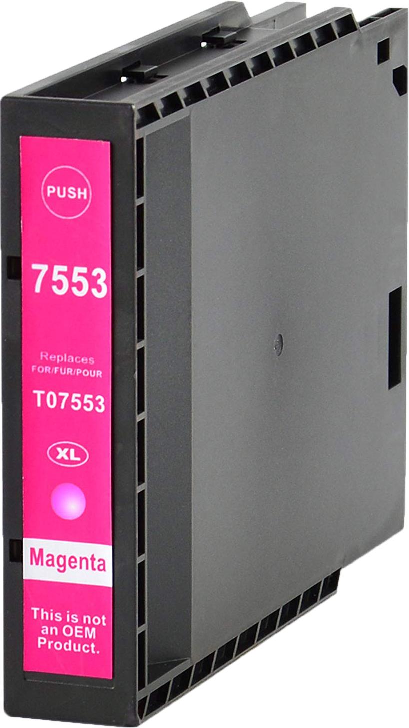 Huismerk Epson T7553 magenta