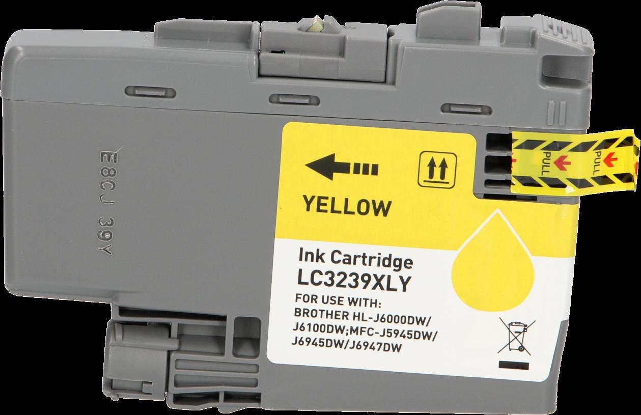 Huismerk Brother LC-3239Y geel