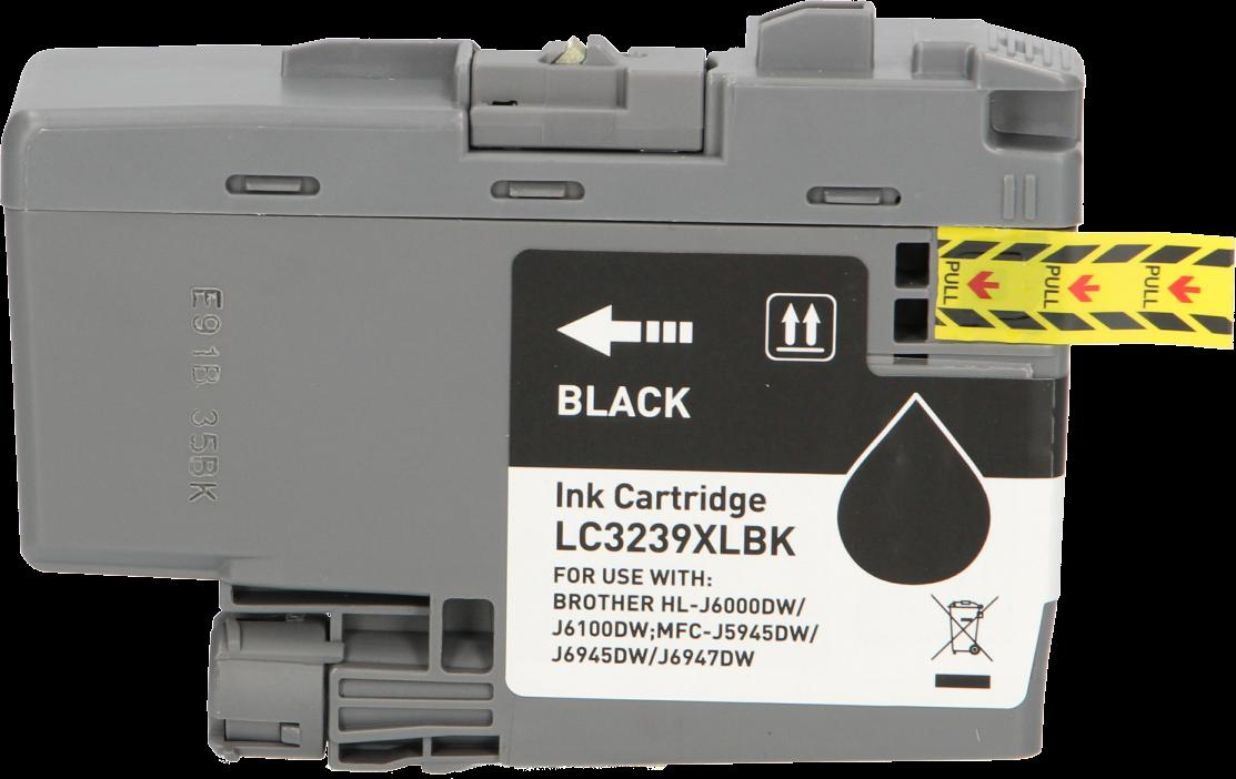 Huismerk Brother LC-3239BK zwart