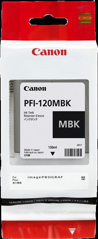 Canon PFI-120 mat zwart