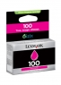 Lexmark 100 magenta (Inktjet cartridge)