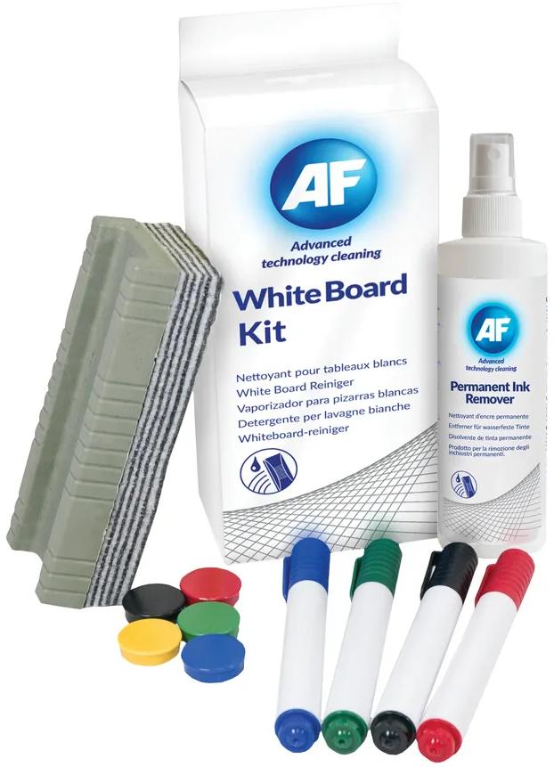 AF Whiteboard cleaningset + stiften