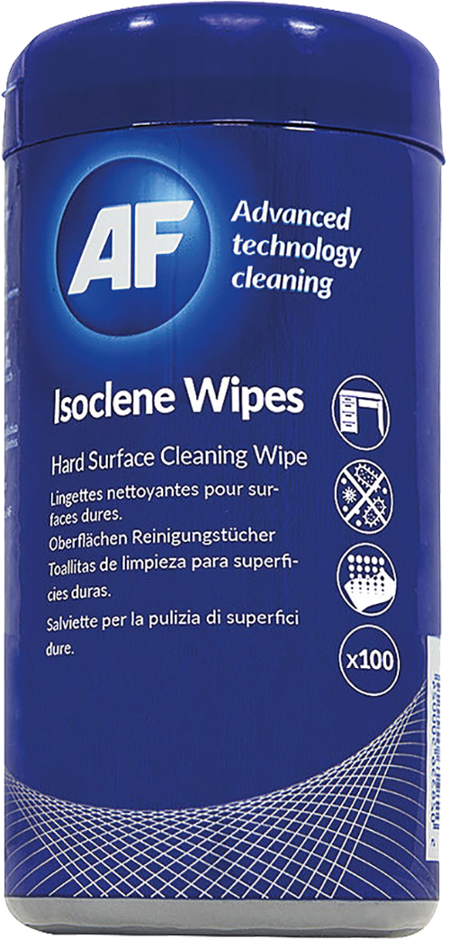 AF Isoclean Wipes